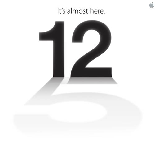 Get iphone5 apple event invitation 02