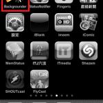 "☆iPhone バックグラウンドでアプリを実行!""Backgrounder"""