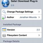 "☆iPhone Safari でダウンロードを実現""Safari DL Plug-In"""