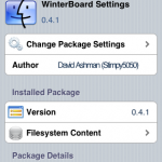 "☆iPhone / iTouch 冬板をより便利に!""WinterBoard Setting"""