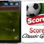 [AppStore] 無料プレゼント中のサッカーゲーム「Score! Classic Goals」が面白い!