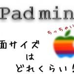 iPad miniの実際の画面サイズはどれくらい? 過去と比較しながら調べてみた