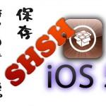 Cydiaが「iOS 5 SHSH」の保存を開始!