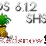 [iOS] iOS 6.1.2 SHSHを取得&保存する!「Redsn0w 編」