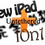 New iPadにて完全脱獄が成功! i0n1c氏がデモ動画を公開!うっほほ!