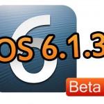 Appleが開発者向けに「iOS 6.1.3 beta 2 (10B318)」をリリース