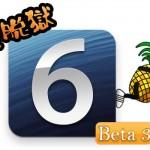 開発者向けに「iOS 6 beta 3」がリリース & 仮脱獄に対応した「Redsn0w 0.9.13dev3」