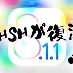 22時間ぶりにiOS 8.1.1 Beta 1のSHSH発行が再開。なんだったの…?
