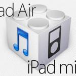 iPad Air & iPad mini Retina向け「iOS 7.0.3」のファームウェアがダウンロード可能状態に