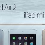 新型である【iPad Air 2】と【iPad mini 3】用iOS 8.1ファームウェアもダウンロード可能に