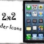 2x2 Folder Icons - フォルダアイコン内を2x2のサムネイル表示に変更 [JBApp]