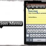 Action Menu - iOSのコピペ機能を拡張して、より便利に!より高機能に! [JBApp]