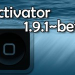 Activator ベータ版がiOS 8に対応したよ!AppListやFlipswitchもiOS 8対応に