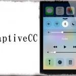 AdaptiveCC - コントロールセンターの余白を除去し若干コンパクトに