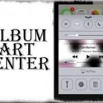 AlbumArtCenter - 再生曲のアートワークをコントロールセンターに表示