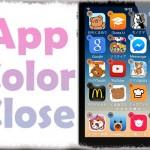 AppColorClose - 削除ボタンをアプリアイコンの色に合わせて変更 [JBApp]