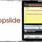 appslide - アプリ移動を感じない!? スライドアニメーション&直前のアプリへ戻る [JBApp]