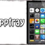 Apptray - 通知センターに専用タブを追加し、アプリショートカットを配置 [JBApp]