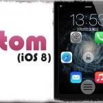 atom (iOS 8) - ロック画面にアプリショートカットを配置!ボタン移動で操作