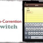 Auto-Correction Switch - 単語の自動修正をオンオフ出来るFlipswitch用トグル [JBApp]