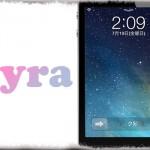 ayra - iOS 7の様な透明感のあるロック画面!! 専用の通知センターも!! [JBApp]