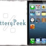 BatteryPeek - ステータスバーに数秒だけバッテリー残量%を表示 [JBApp]