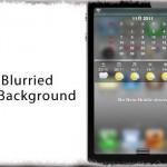 BlurriedNCBackground - 通知センターの背景を「すりガラス風」に変更! [JBApp]