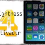 Brightness4Activator - 画面の明るさを2段階設定しActivatorでサクッと変更