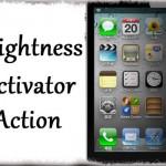 Brightness Activator Action - Activatorジェスチャーで画面の明るさを調整 [JBApp]