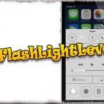 CCFlashLightLevel - LEDライトの明るさをコントロールセンターから変更可能に [JBApp]