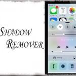 CCShadowRemover - コントロールセンター上部が暗くならないように