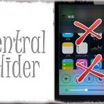 Central Hider - 通知センターとコントロールセンターの呼び出しを禁止する