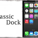 ClassicDock - iOS 6風の光沢あるドック背景を再現!! [JBApp]