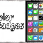 ColorBadges - バッジの色をアプリアイコンに合わせて自動で変更!! かわいい!! [JBApp]