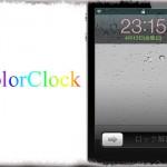 ColorClock - ロック画面 日時の文字色を手軽に変更する [JBApp]