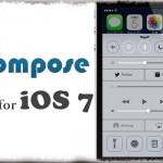 Compose for iOS 7 - コントロールセンターに各種機能へのショートカットを [JBApp]
