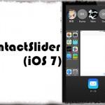 ContactSlider (iOS 7) - スイッチャー上部にiOS 8風の連絡先を再現 [JBApp]