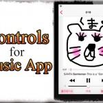 Controls for Music App - 音楽リピートやシャッフル等をActivatorから操作