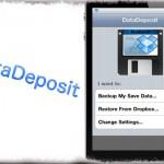 DataDeposit - AppStoreアプリのデータをDropBoxにバックアップ&リストア [JBApp]
