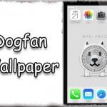 Dogfan Wallpaper - 白い犬のお父さん…うごく「お父さん扇風機」壁紙!! [JBApp]