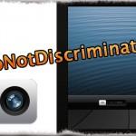 DoNotDiscriminate - iPadでもロック画面を上にスワイプしてカメラを起動 [JBApp]