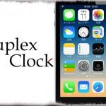 DuplexClock - ステータスバーに海外時間も一緒に表示