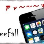 FreeFall - 落下させてしまうとiPhoneから「ウィルヘルムの叫び」が…