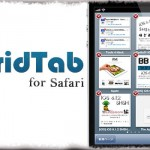 GridTab for Safari - Safariのタブ一覧をグリッド表示に!1画面で複数タブ確認 [JBApp]