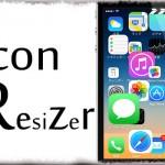 Icon Resizer - アプリ単位でアイコンのサイズを別々に変更!