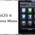iOS 6 Photos Menu - iOS 6を先取り?写真アプリメニューをiOS 6風にチェンジ [JBApp]