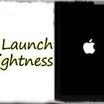 Launch Brightness - 再起動やリスプリング直後の「画面の明るさ」を一定に