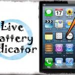 Live Battery Indicator - バッテリー残量をコンパクトな円形アイコンで表示する [JBApp]