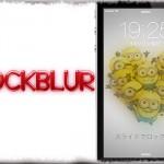 LockBlur - ロック画面の背景に好きなレベルでボカシ効果を追加! [JBApp]