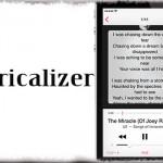 Lyricalizer - 再生曲の歌詞を自動取得して表示する